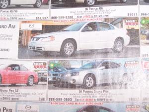 car-text-ad