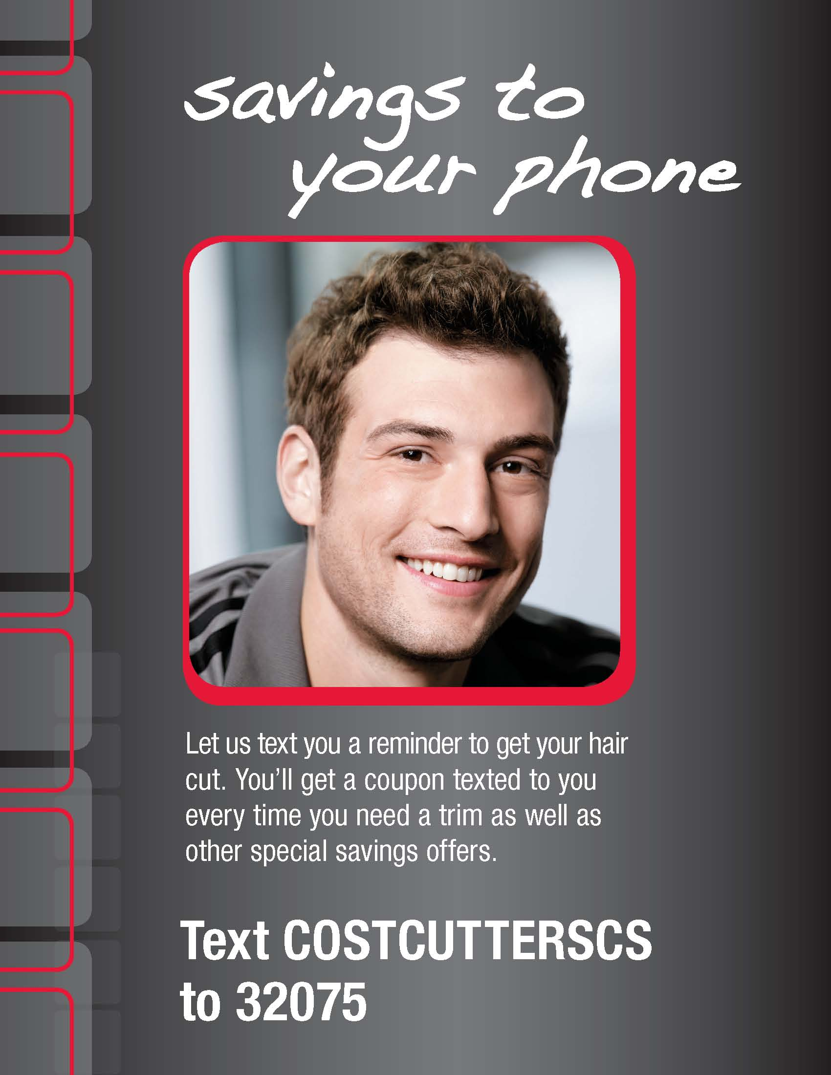 Cost Cutters Mobile Coupons And Hair Cut Reminders Qittle Sms
